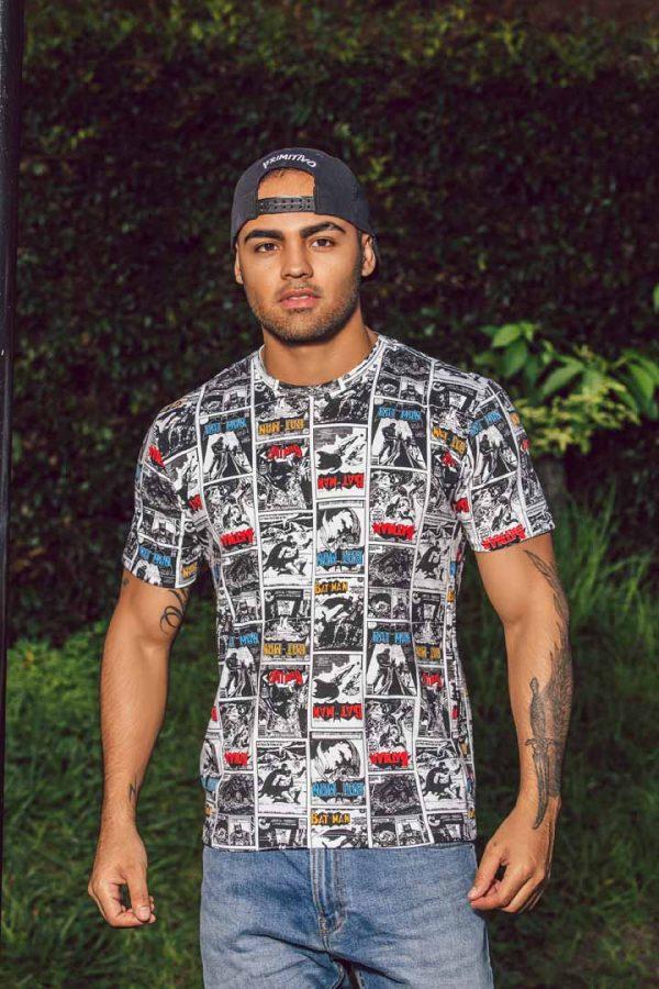 Camiseta Estampada Ref 20600925