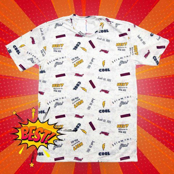 Camiseta Comics Hombre 957